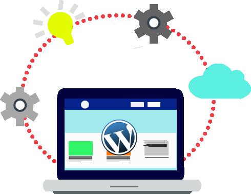 Grafička ilustracijaprocesa razmišljanja u web dizajnu